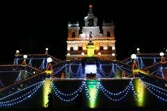 Niepokalany kościół Goa zdjęcia royalty free