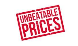 Niepokonana ceny pieczątka Zdjęcie Royalty Free