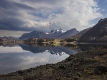 Nieprawdopodobne góry w Norwegia zdjęcie royalty free