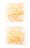 Nieprzezroczysty gips na białym tle zdjęcia royalty free