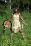 Nieprzyjazny indianin Fotografia Stock