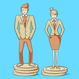 Nierówność W Traktowaniu Płci Zdjęcia Royalty Free