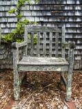 Nierówny stary krzesło obraz stock