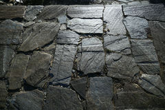 Nieregularna kamienna podłoga Zdjęcie Royalty Free