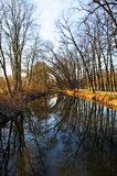 Niers river Royalty Free Stock Photography