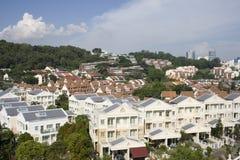 nieruchomość budynki mieszkalne Obraz Royalty Free