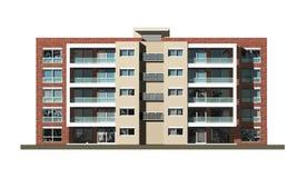 nieruchomość budynki mieszkalne Obrazy Stock