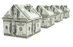 Nieruchomość finanse Obraz Stock