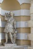 Nieruchomość Kuskovo Czerep rzeźba w niszie pawilon Zdjęcia Royalty Free
