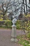 Nieruchomość Kuskovo Popiersie w jesień parku Obraz Stock
