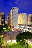 nieruchomość mieszkaniowy Singapore zdjęcia stock