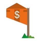 nieruchomość rynku budownictwa mieszkaniowego wartości cena Obrazy Royalty Free