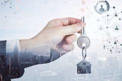 Nieruchomości i hipoteki pojęcie obrazy stock