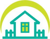 nieruchomości mały domowy ilustracyjny istny prosty Fotografia Royalty Free