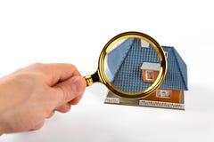 Nieruchomości otaksowania i inspekci pojęcie fotografia stock