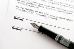 nieruchomości reala sprzedaż Obrazy Stock