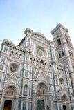 niesamowicie bazyliki del wyszczególniał Di Powierzchowność sławnego fiore Florence punkt zwrotny Maria najwięcej noc Santa Zdjęcia Royalty Free