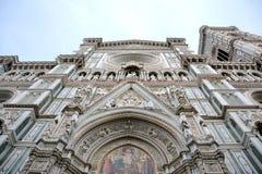 niesamowicie bazyliki del wyszczególniał Di Powierzchowność sławnego fiore Florence punkt zwrotny Maria najwięcej noc Santa Obrazy Stock