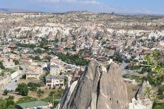 Niesamowicie krajobraz w środkowym Turcja Fotografia Stock