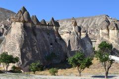 Niesamowicie krajobraz w środkowym Turcja Zdjęcie Royalty Free