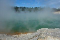 Niesamowita termiczna kraina cudów Fotografia Royalty Free