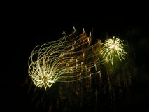 niesamowite muzykalni pająki niebo Obraz Royalty Free