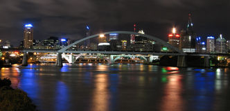 niesamowite panorma miasta. Fotografia Stock