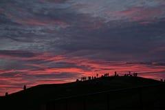 niesamowite słońca Obraz Stock