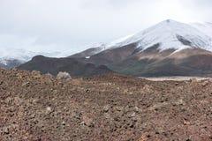 Niesamowity krajobraz, kratery księżyc Krajowy zabytek obraz royalty free