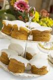Nieselregen-Kuchen Lizenzfreie Stockfotografie