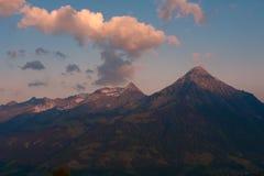 Niesen山顶 库存照片
