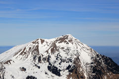 Niesen mountain Switzerland Swiss Alps mountains aerial view pho Royalty Free Stock Images