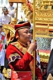 niesie fan żołnierza kostiumu rocznika Obraz Royalty Free