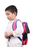 niesie schoolbag Obraz Royalty Free