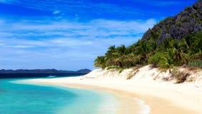 Nieskazitelna plaża fotografia royalty free