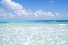 Nieskazitelni turkusowego błękita morza przy Kalapathar plażą, Havelock wyspa Fotografia Royalty Free