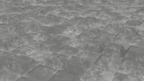 Nieskończeni scrached betonowi sześciany Zdjęcie Royalty Free