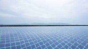 Nieskończoność basenu wody powierzchnia zbiory