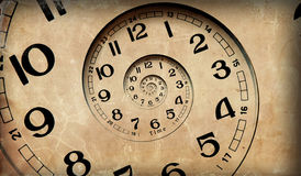 Nieskończoność czas. Obrazy Stock