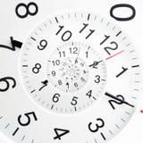 Nieskończoność czasu spirala Obraz Stock
