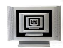nieskończoność telewizje Zdjęcie Royalty Free