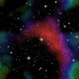 Nieskończoności astronautyczny tło Obraz Royalty Free