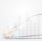 Nieskończoności diagrama informatyki pojęcia biznesu backgroun Obrazy Stock