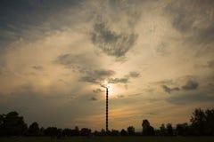 Nieskończoności kolumna Constantin Brancusi, Targ Jiu - zdjęcie royalty free