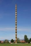 Nieskończoności kolumna Constantin Brancusi, Targ Jiu, Rumunia Fotografia Royalty Free