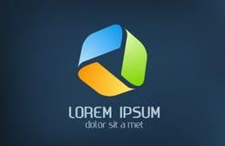 Nieskończony logo. Fotografia Stock