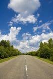 nieskończona road Obraz Royalty Free