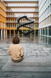 Nieskończony schody Olafur Eliasson w Monachium Fotografia Royalty Free