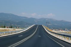 nieskończoności droga Zdjęcie Royalty Free