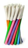 Niesortowany set barwioni filc pióra w wiązce Fotografia Royalty Free